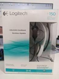 Fone de Ouvido com Microfone Logitech H150