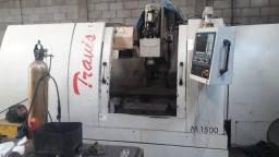 Centro de usinagem Travis M1500 - ano 2008 - curso x 1500 mm