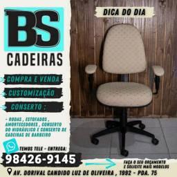 Cadeira flexform  tecido diamante  claro