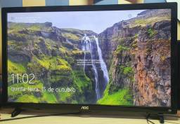 Monitor AOC  24 LED TV