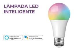 Lâmpada Led Inteligente Wifi Tuya Ekaza Smart Life funciona com Alexa e Google Home