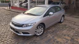 Honda Civic LXS 1.8 Aut Prata Completo