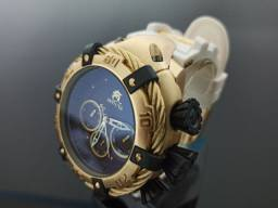 Relógio masculino invicta thunderbolt pulseira branca