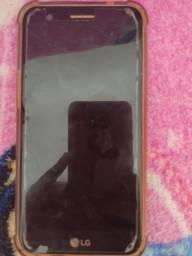 LG K10 tela perfeita ao a película trincada