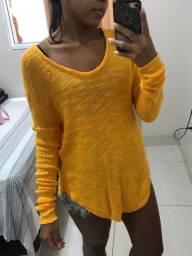Blusão em tricô da Zara