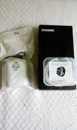 Celular doogee X10S + Fone de ouvido + smartwatch