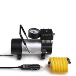 Compressor de ar premium metalico 12v vazao 20l/min 200psi 3 bicos
