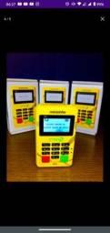 Minizinha chip2 máquina de cartão