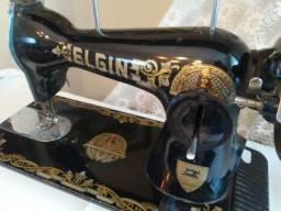 Máquina de costura Elgin antiguidade, relíquia