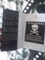Livro Krav Maga caveira defesa pessoal Wesley Gimenez