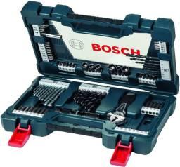 Kit Com 83 Acessórios Maleta Ferramenta Broca V-line - Bosch