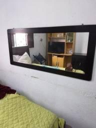 Balcão e espelho