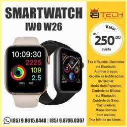 Smartwatch W26 Tela Infinita 44 Mm Iwo 26