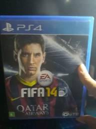 FIFA 14 PS4.USADO EM PERFEITAS CONDIÇÕES.
