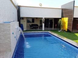 Casa 04 quartos, com piscina - mobiliada a venda em caldas novas