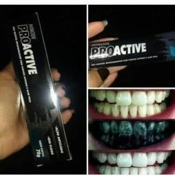 Gel dental pro active carvão ativado