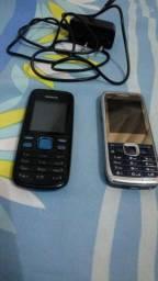Vendo 2 celulares Leia descrição