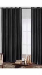 Cortina blackut tecido poliéster corta luz 2.00X 1.80