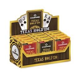 Cx. Dúzia Baralho Texas Hold'em - Copag
