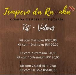 Marmita fit Kit com 7 a partir de R$70,00 com 10 a partir de R$100,00