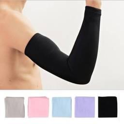 Manguito proteção braço ciclismo motoboy//entrega grátis