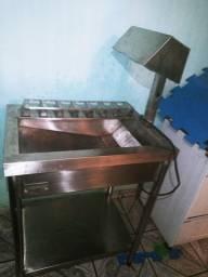 Fritadeira e aquecedor eletricos industriais