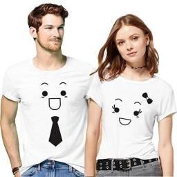 Conjunto de camiseta Personalizada casal