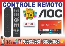 Controle Aoc LE50S5970 (Tecla Netflix)