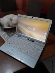 Notebook Sony Vaio VPCeh40EB/W Core i3 4GB Ram 500GB HD