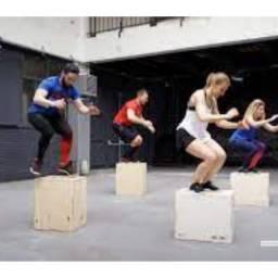 Caixote para treino/ malhar / Exercícios Físicos/ crossfit