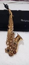 Sax soprano curvo. DOLPHIN