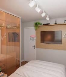 Apartamento à venda, 2 quartos, 1 suíte, 1 vaga, Curuçá - Santo André/SP