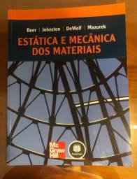 Livro Estática e Mecânica dos Materiais Beer Johnston