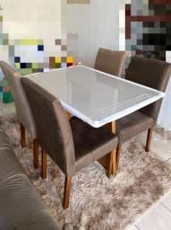 Mesa de jantar laka off white (nova/lacrada)!!