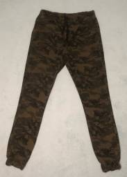 Calça jogger camuflada 38 (M)