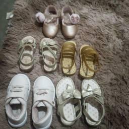 Vendo 5 pares de sandalinhas
