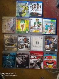14 JOGOS ORIGINAIS DE PS3 E PS4
