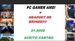 CPU GAMER AMD!