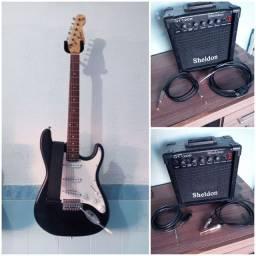 Guitarra Earth com caixa