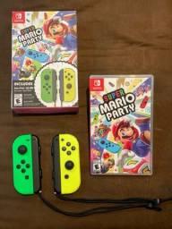 Mario Party + Joycons
