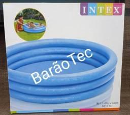 Piscina Inflável Azul Cristal- Intex