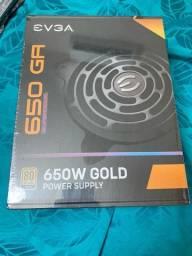 Fonte 650w gold supernova lacrada