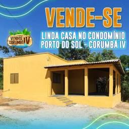 Vendo Casa no Condomínio Porto do Sol , Corumbá IV
