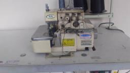 3 máquinas de costura indústria . Reta,overloque