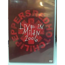 DVD Red Hot Chili Peppers - Live In Milan 2006 - Show ao vivo RHCP