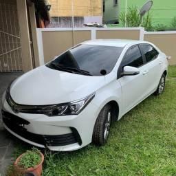 Vendo Corolla 2019 GLI Única Dona