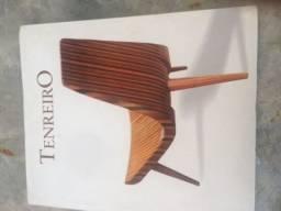 Livro Catálogo Joaquim Tenreiro móveis antigos