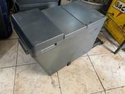 Caixa termica original isopor geladeira iveco stralis compartimento refrigerador