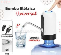Bomba  água elétrica recarregável usb
