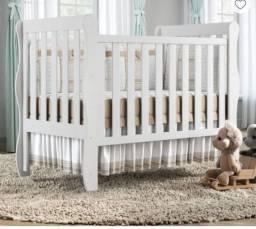 Berço e mini cama infantil 3 em 1